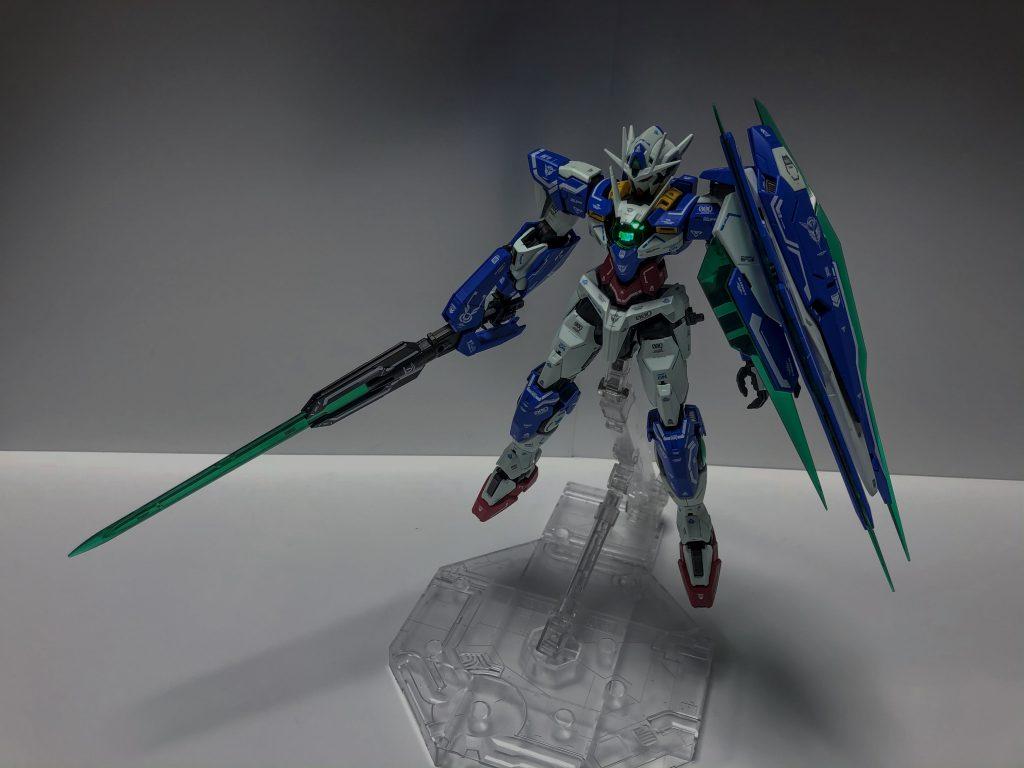 MG ダブルオークアンタ アピールショット7