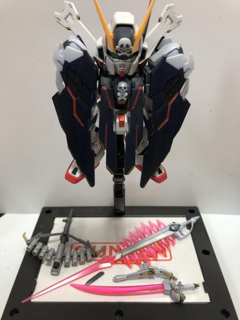 クロスボーンガンダムフルクロス アピールショット6