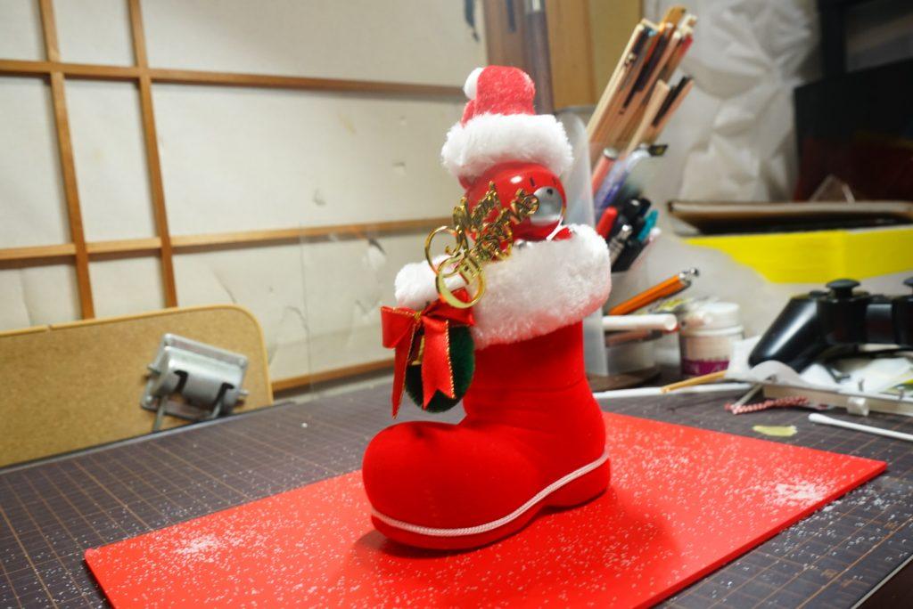 プチッガイ クリスマスカラー アピールショット2