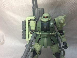 HG 1/144 シャア専用ザクⅡ(オリジン版) 量産カラー