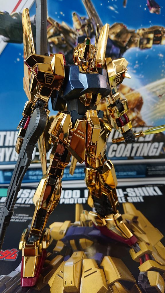 HG 百式 ゴールドコーティング