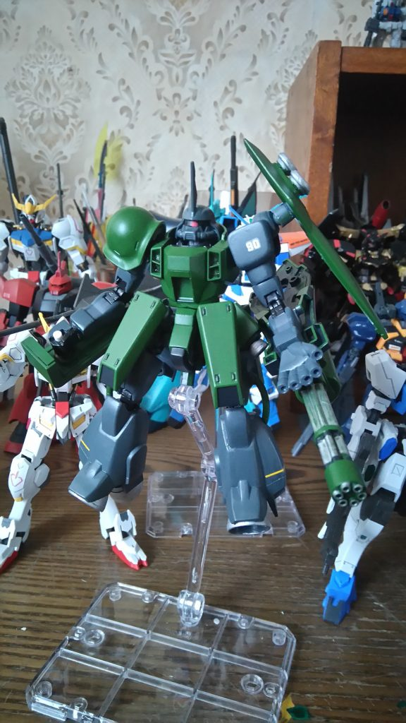 Burst Zaku Warrior Space type アピールショット1