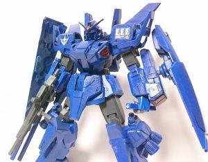 フルアーマーガンダムマークⅡ(HGリバイブ UOの青FAカラー)