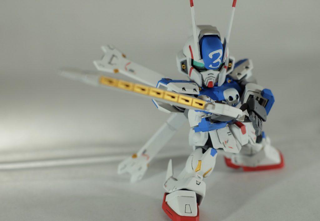 SD クロスボーンガンダムX3