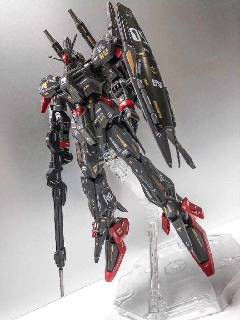 RE/100 ガンダムMk-Ⅲ アピールショット5
