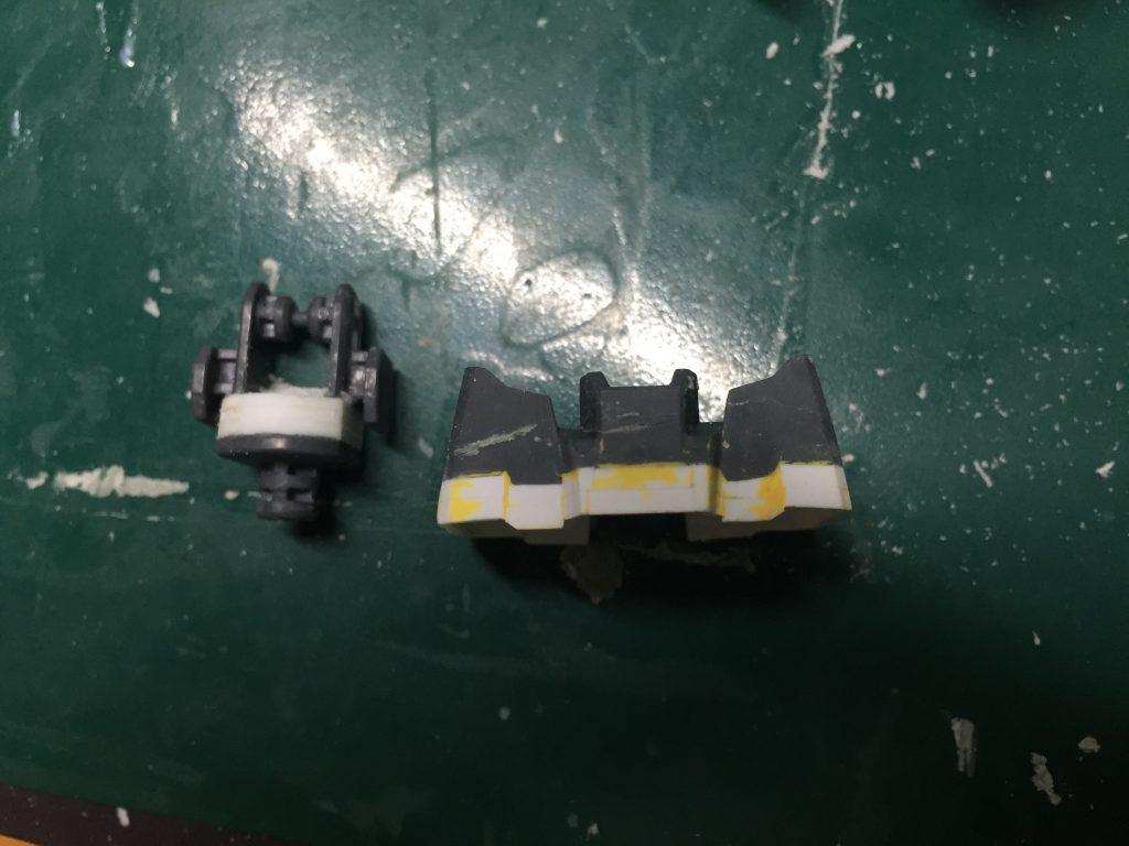 MG ユニコーンガンダム3号機 フェネクス 制作工程2