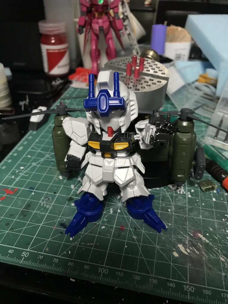 NEW GM(GUNSTA MASTER) 制作工程4