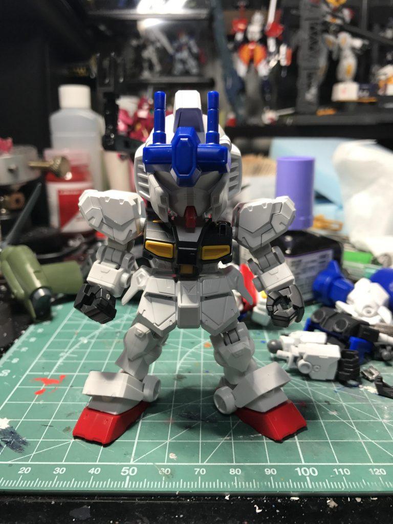 NEW GM(GUNSTA MASTER) 制作工程3