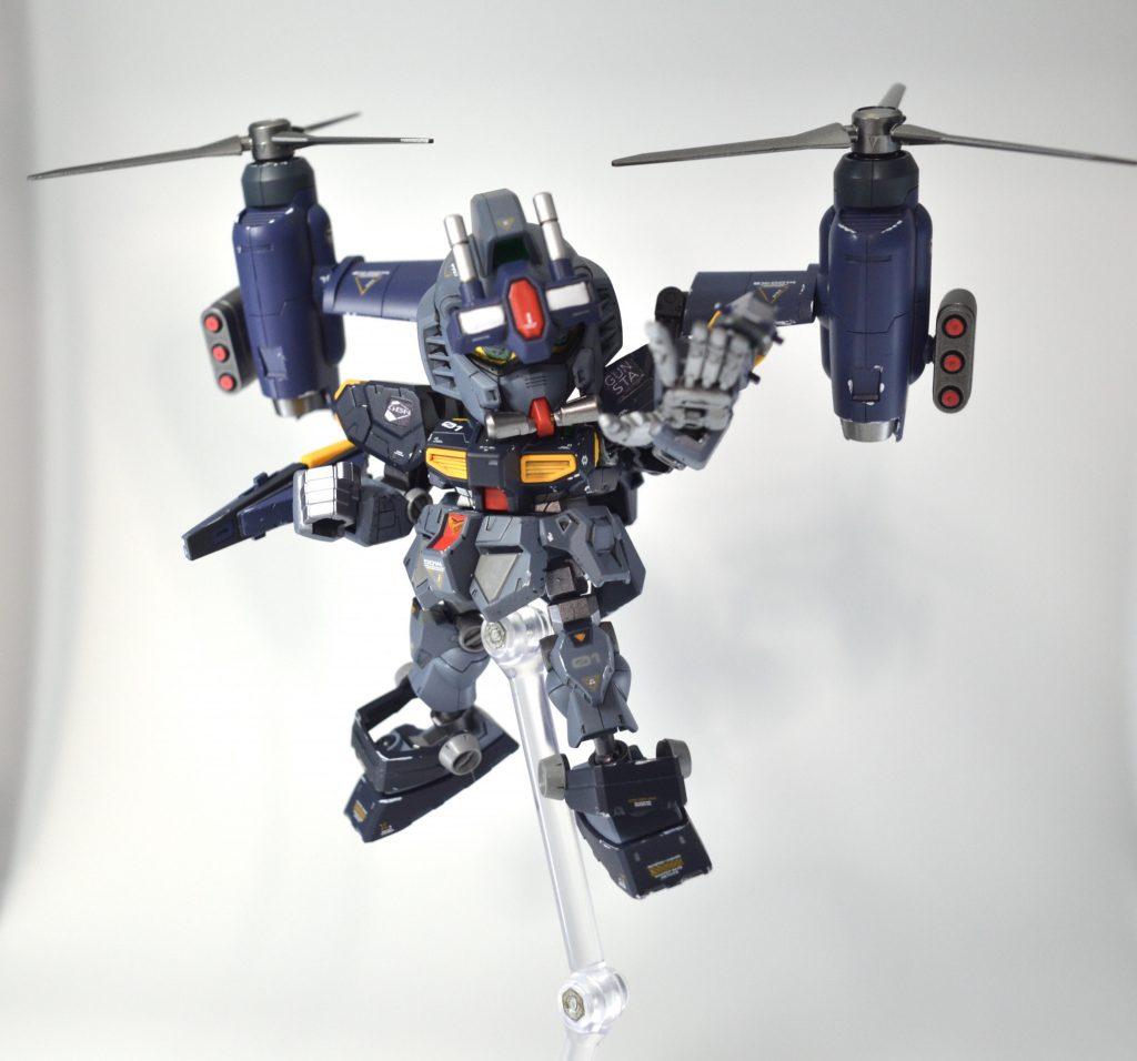 NEW GM(GUNSTA MASTER) 制作工程6