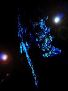 SDフェネクスNT版 イラスト風塗装 LEDライト設置撮影