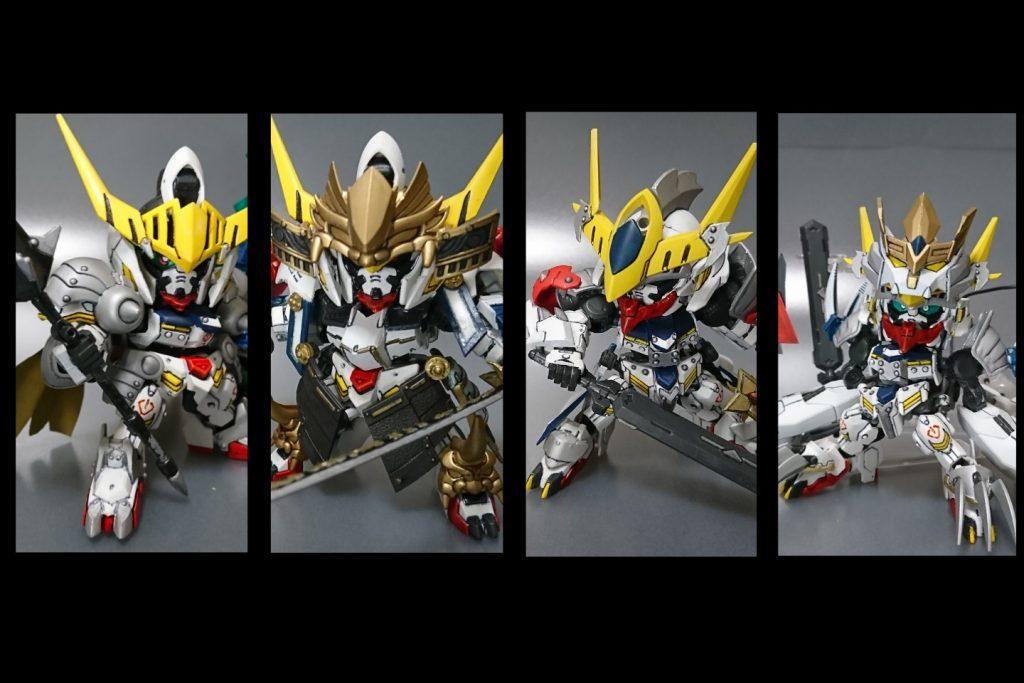 騎士バルバトスと鎧換装による形態変化