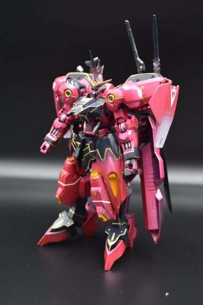 ASW-G-X7 ガンダム ヴィカラーラ アピールショット3
