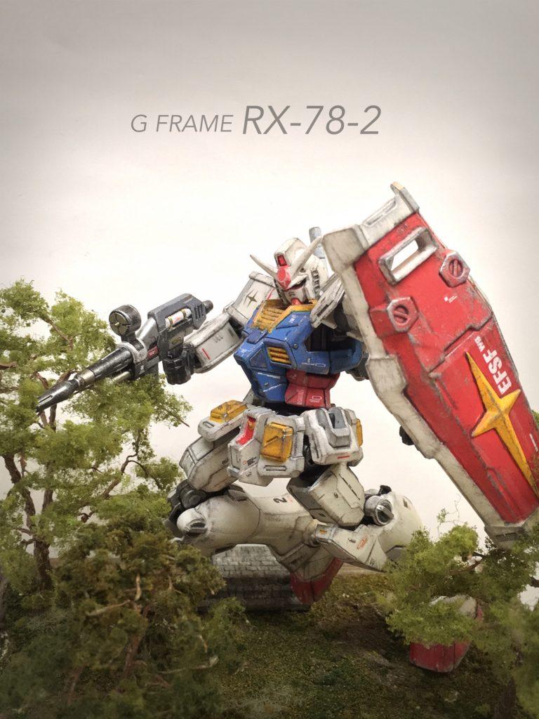Gフレーム RX-78-2 アピールショット1