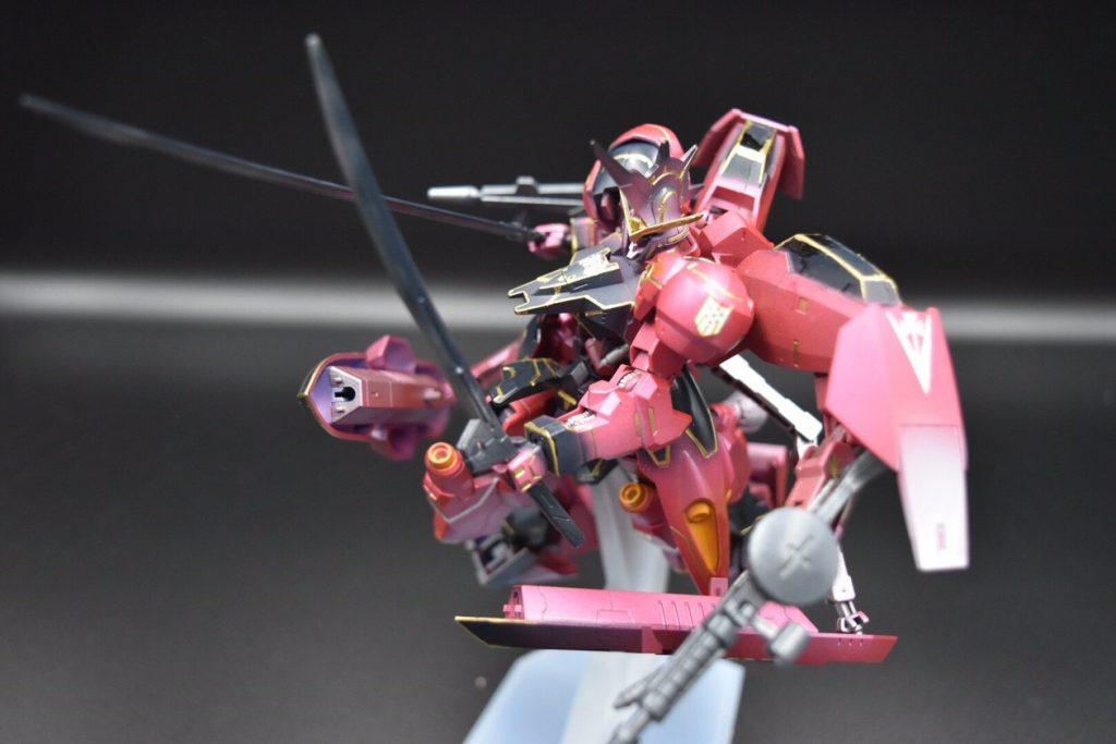 ASW-G-X7 ガンダム ヴィカラーラ 制作工程2