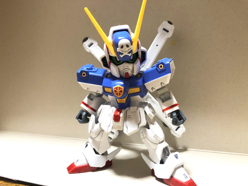 クロスボーンガンダムX1 (X3カラー)