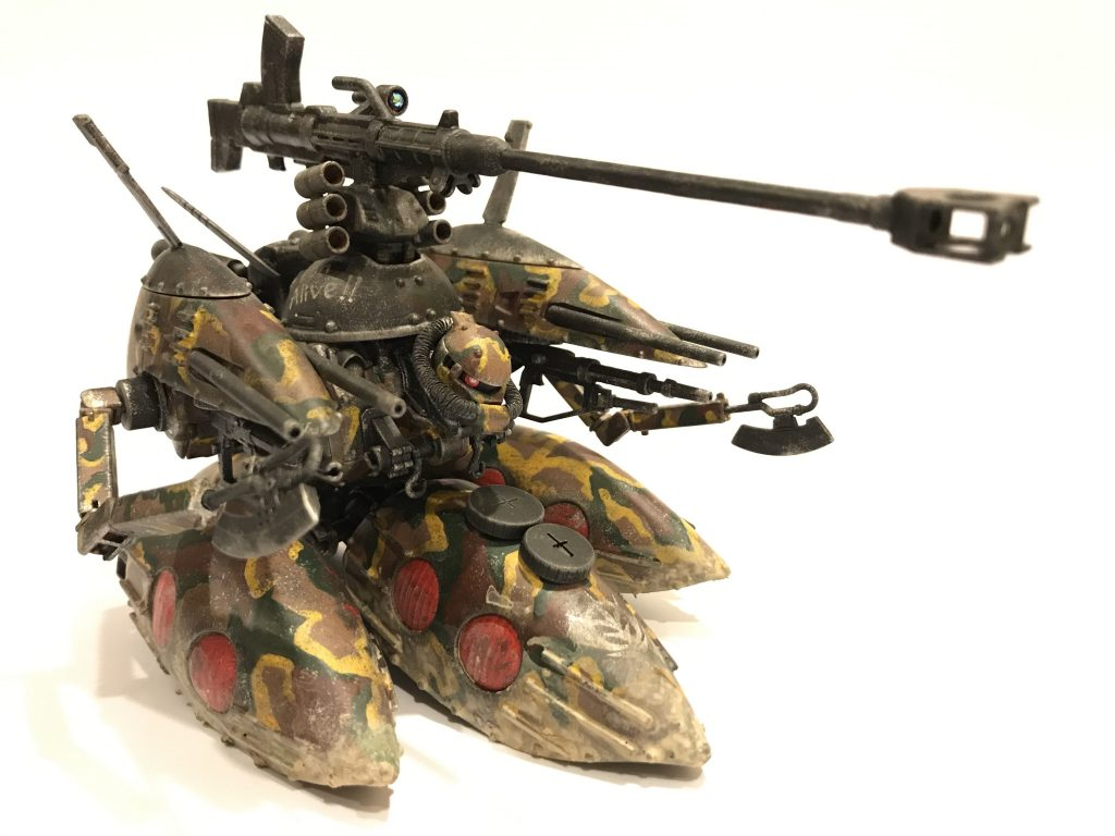 サラス・ヴァティー(ホバー・ザクタンク) アピールショット1