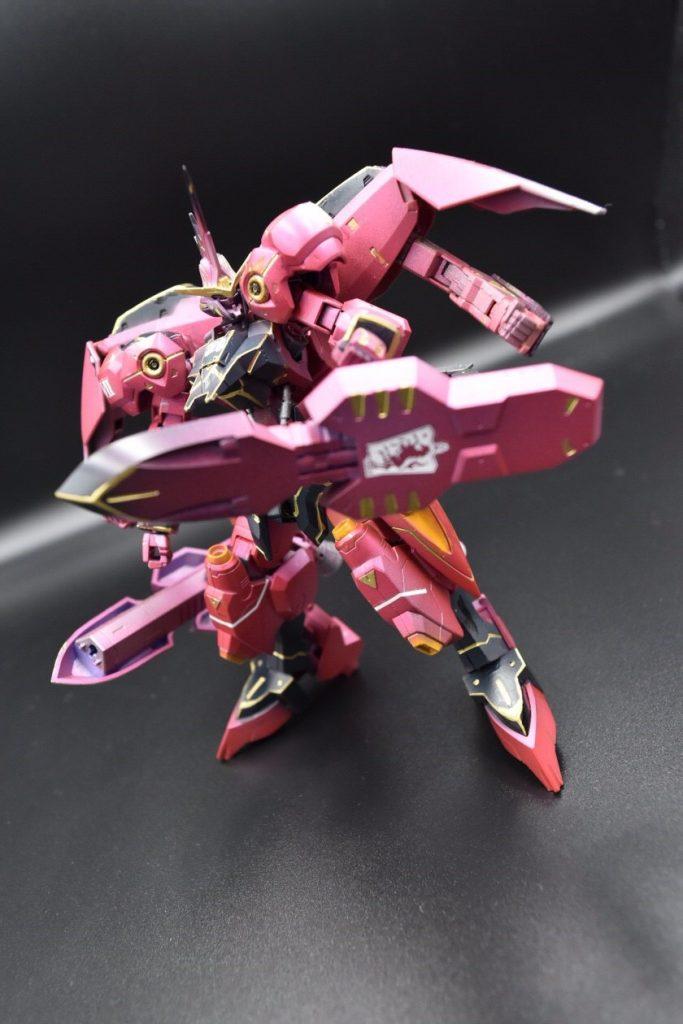 ASW-G-X7 ガンダム ヴィカラーラ 制作工程4