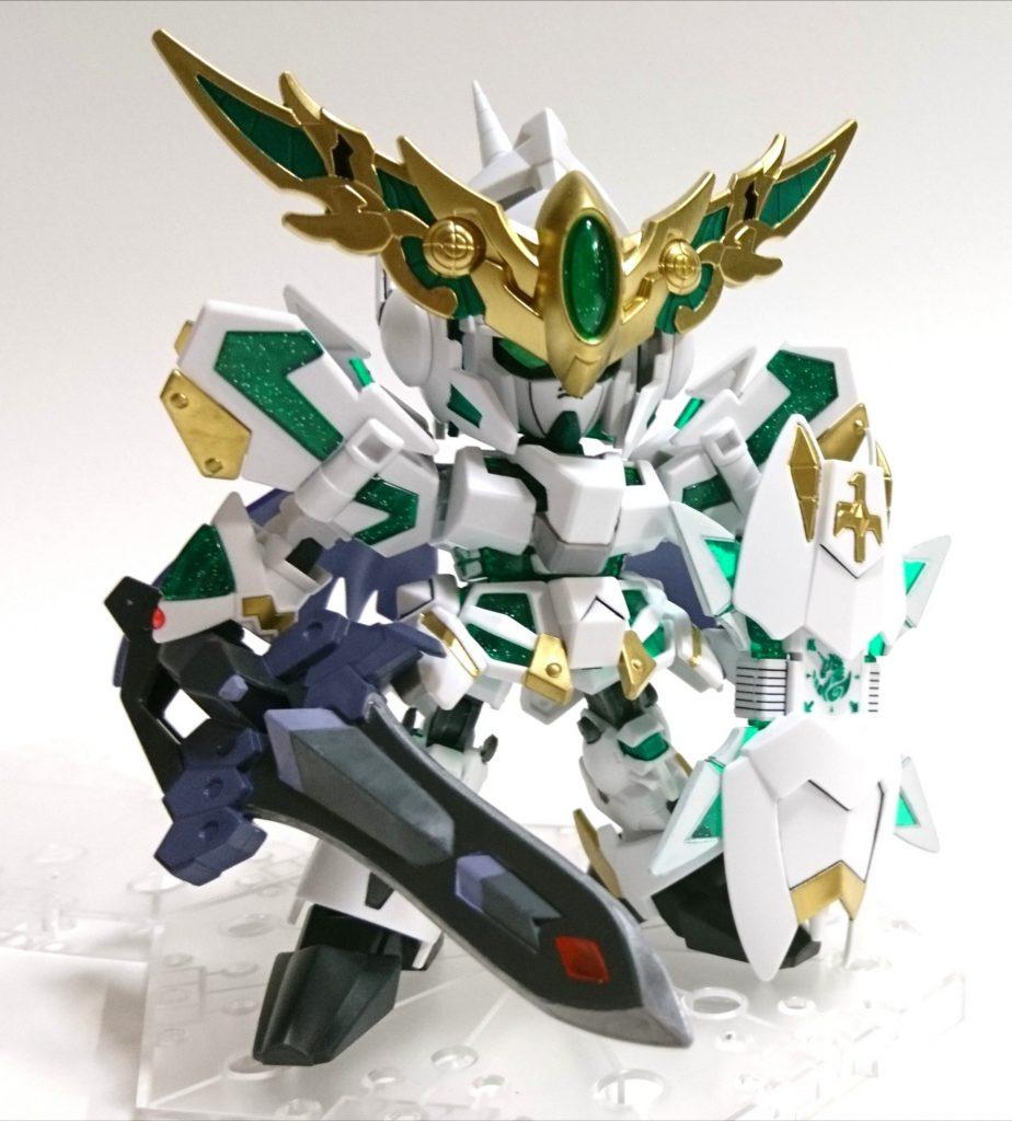 騎士ユニコーンガンダムEX アピールショット1