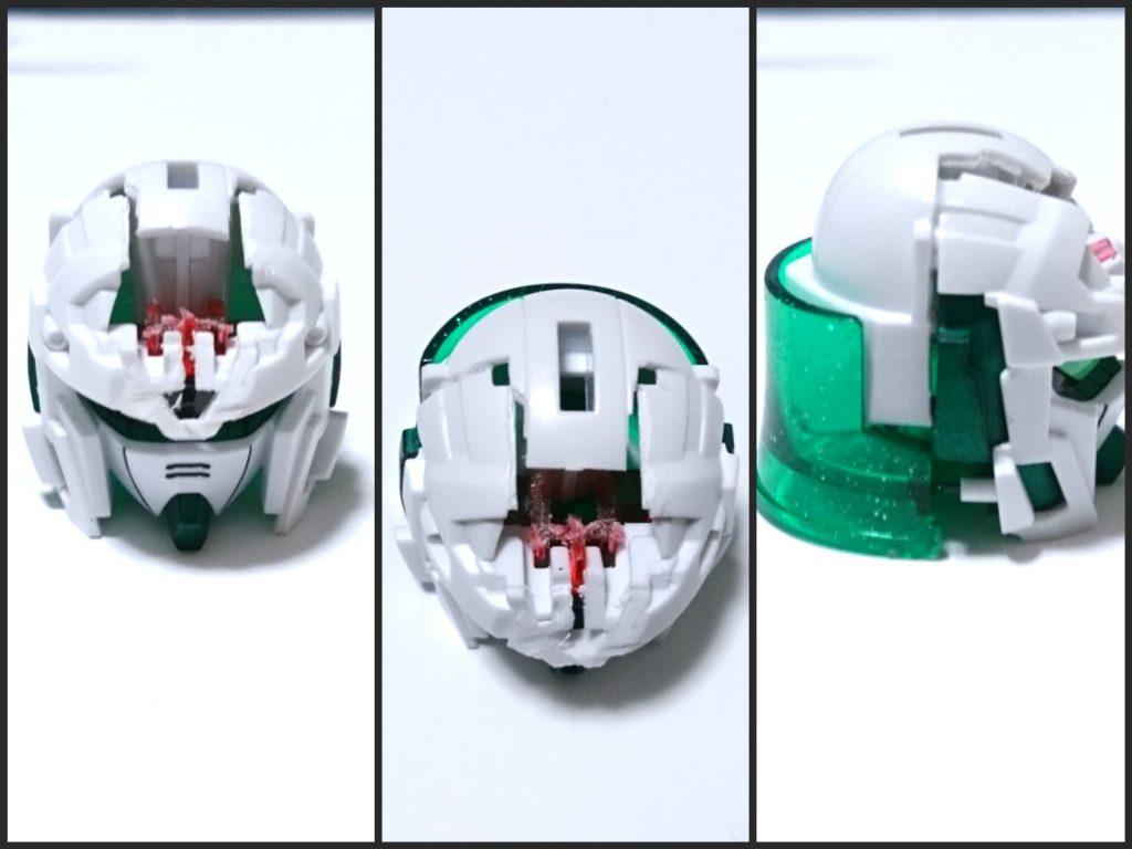 騎士ユニコーンガンダムEX 制作工程3