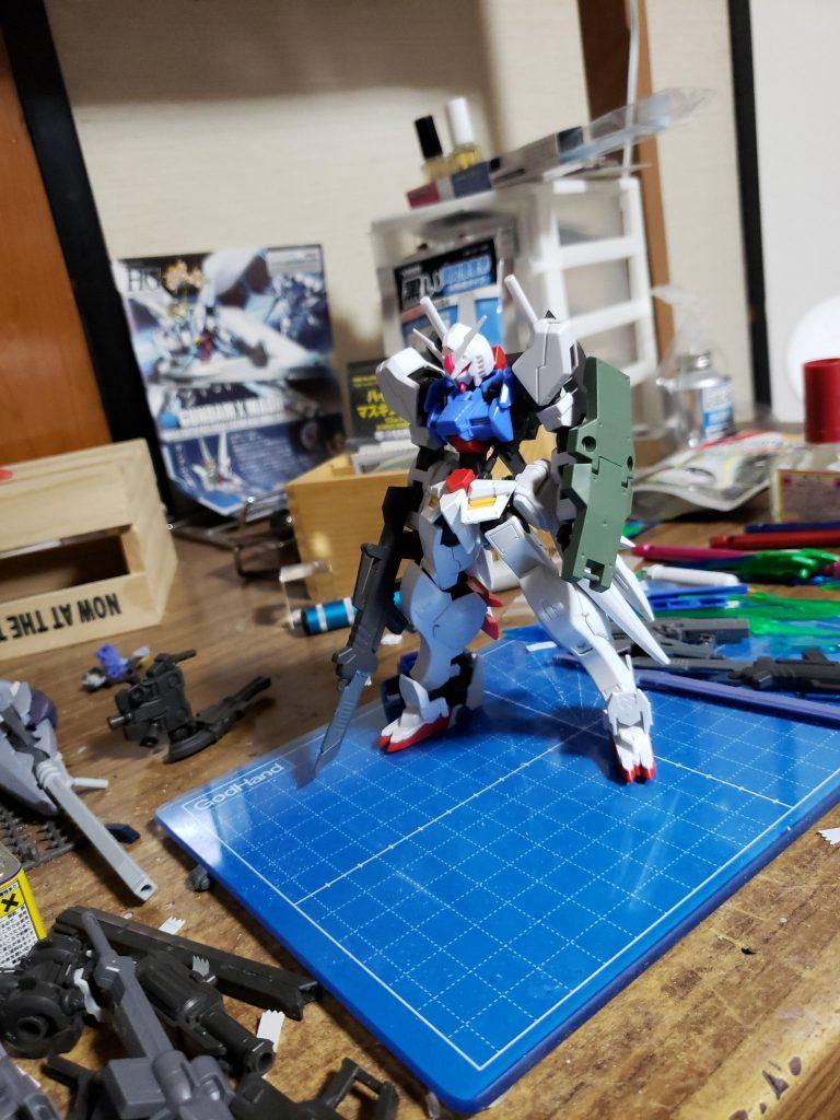 鉄血版RX-78「アイリス」 制作工程3