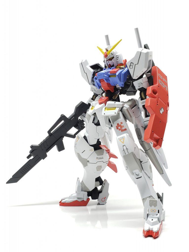 鉄血版RX-78「アイリス」 アピールショット1