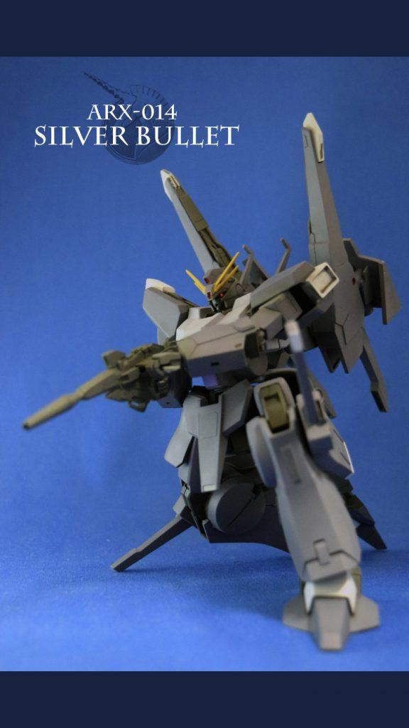 ARX-014 シルヴァ・バレト(改修機) アピールショット1