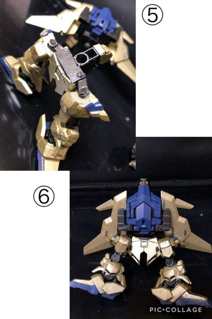 可変型 SD 百改 (デルタプラス) 制作工程5