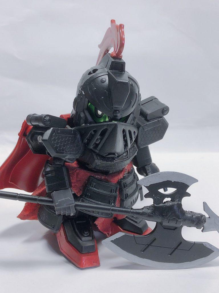 黒騎士ゲボルグ 制作工程2