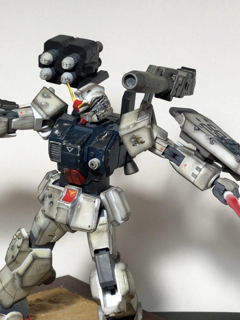 陸戦型ガンダムカスタム アピールショット3