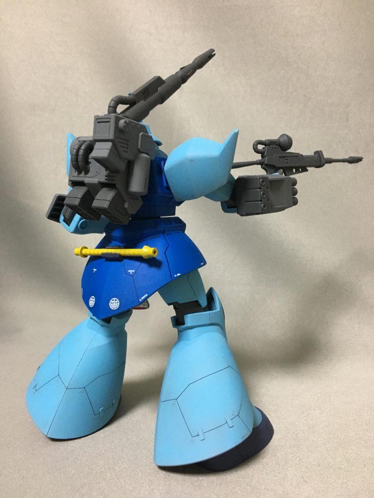 ゲルググ 青の部隊 制作工程2