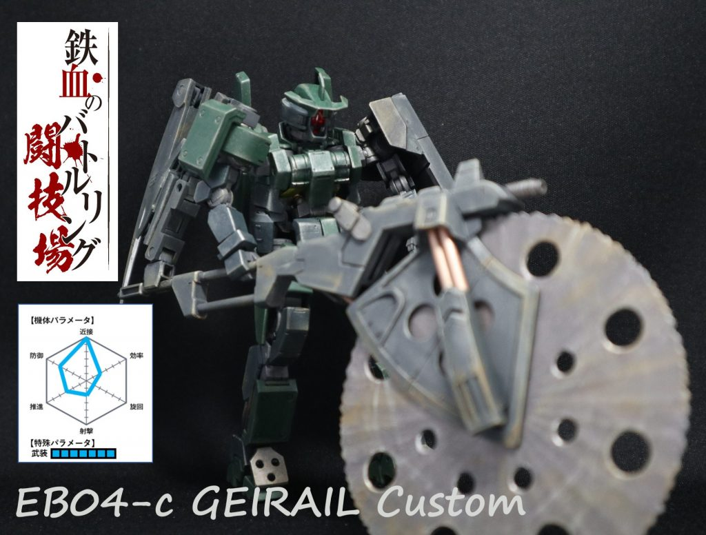 EB04-c GAIRAIL Custom (ゲイレールカスタム)