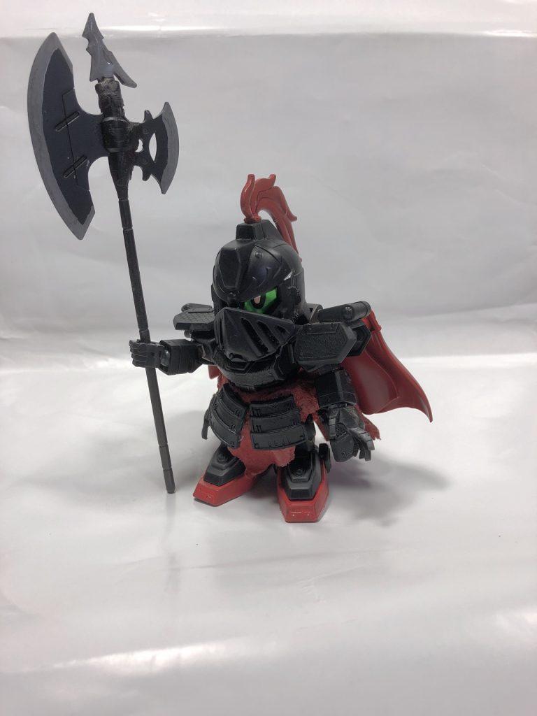 黒騎士ゲボルグ アピールショット1