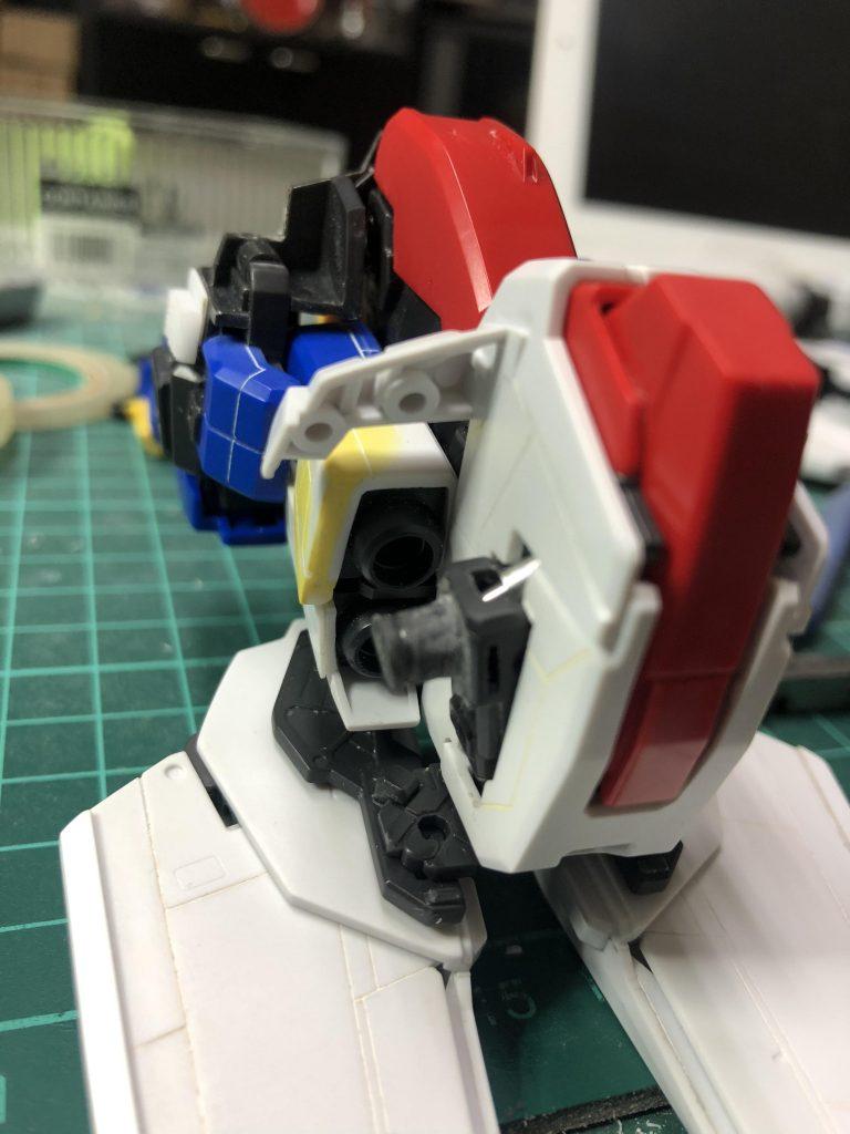 Ex-S  ガンダム 制作工程6