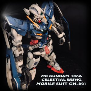MG GUNDAM  EXIA CELESTIAL BEING MOBILE SUIT GN-001