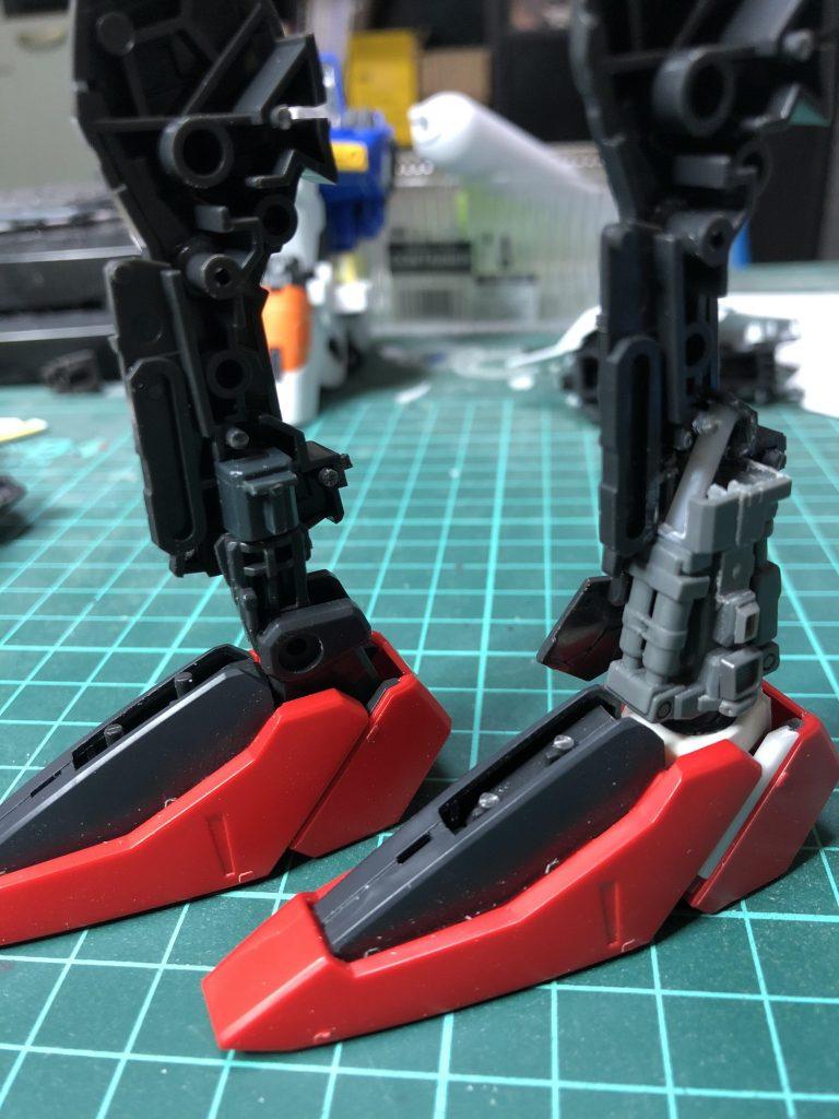 Ex-S  ガンダム 制作工程2