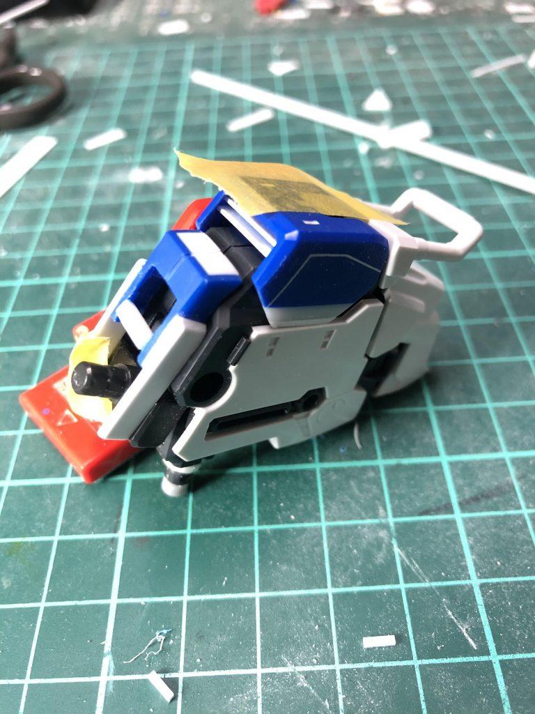 Ex-S  ガンダム 制作工程4