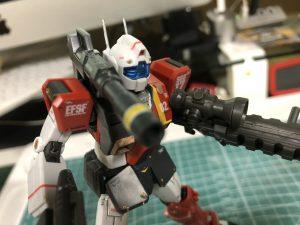 HGUC 1/144 ジム・キャノン (空間突撃仕様)
