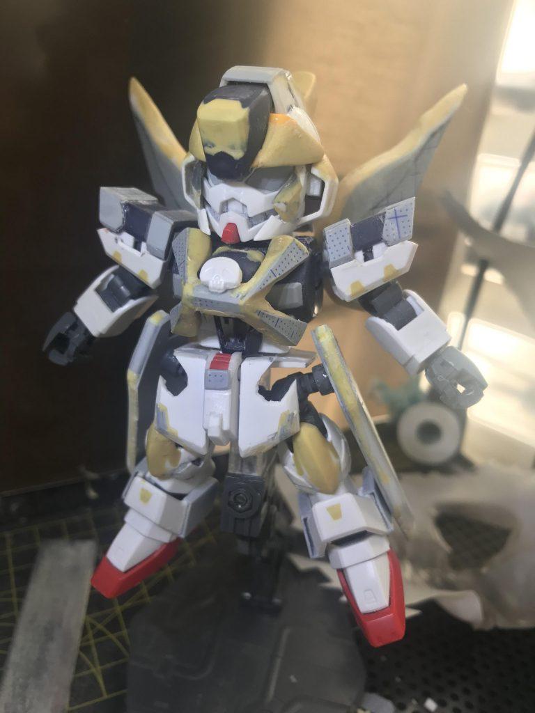 XM-XX ゴーストガンダム 制作工程3