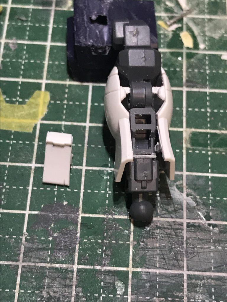 XM-XX ゴーストガンダム 制作工程1