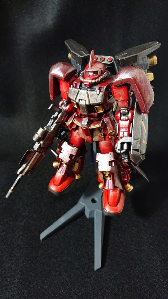高機動型ザク焔丸 アピールショット1
