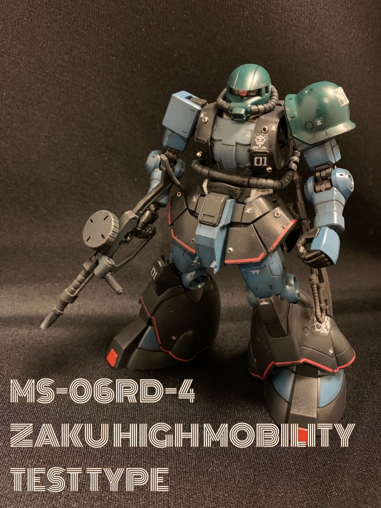 MS-06RD-4 ZAKU HIGH MOBILITY TEST TYPE