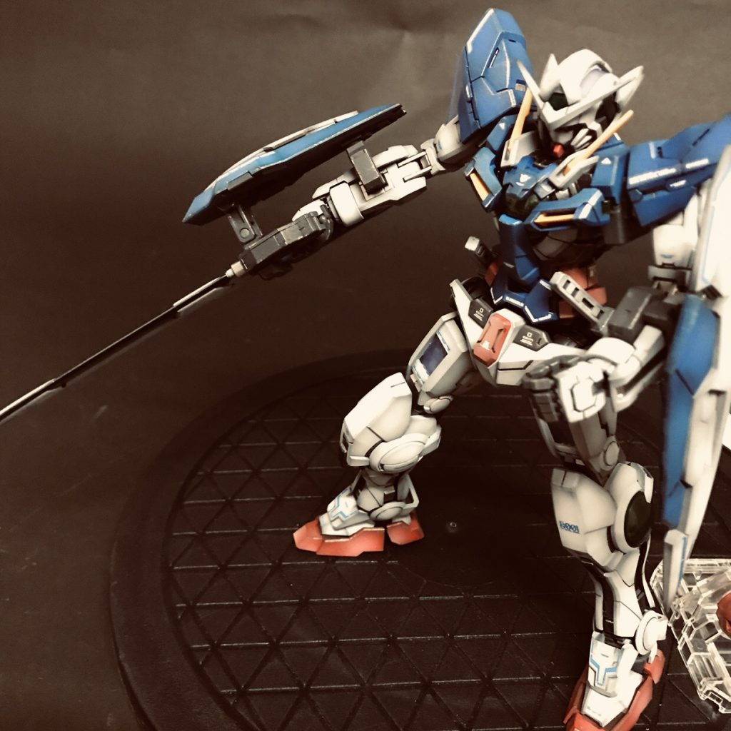 MG GUNDAM  EXIA CELESTIAL BEING MOBILE SUIT GN-001 アピールショット3