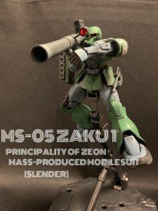 MS-05 ZAKU 1