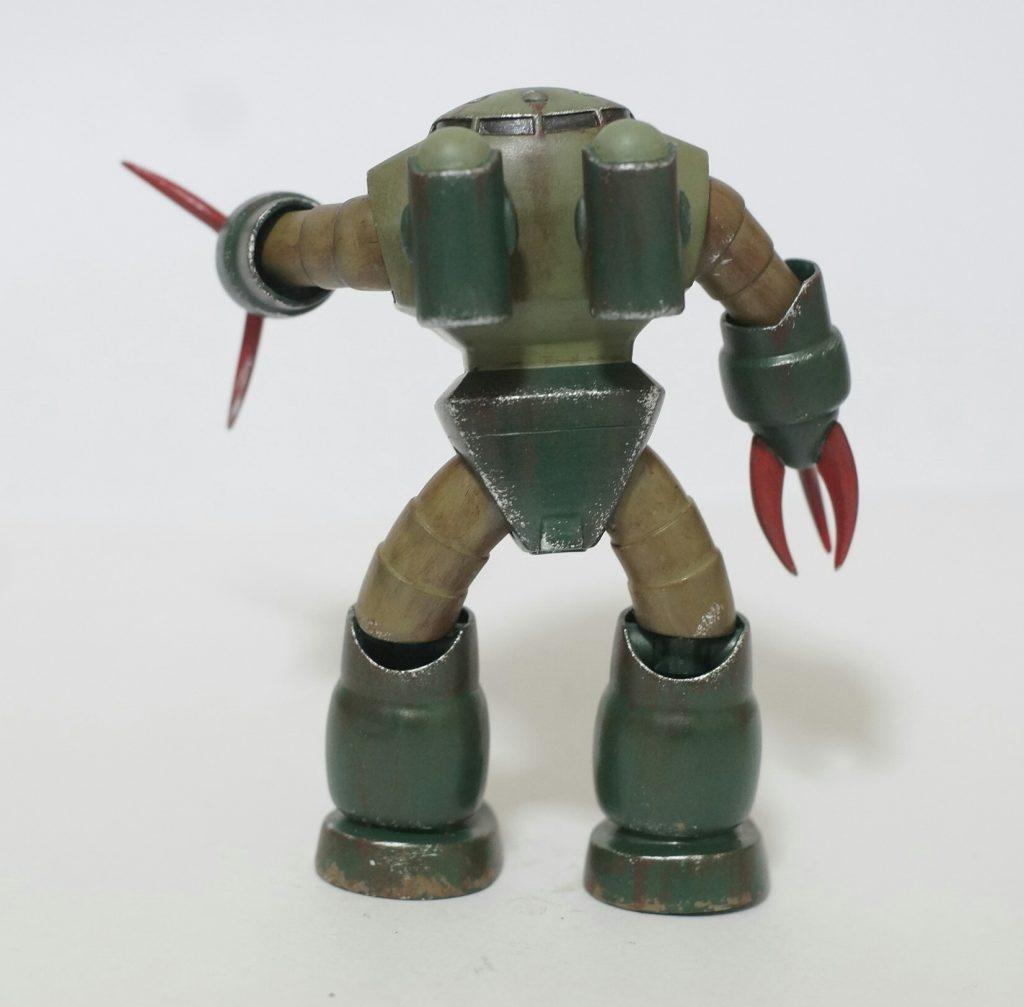 緑のズゴッキ アピールショット2