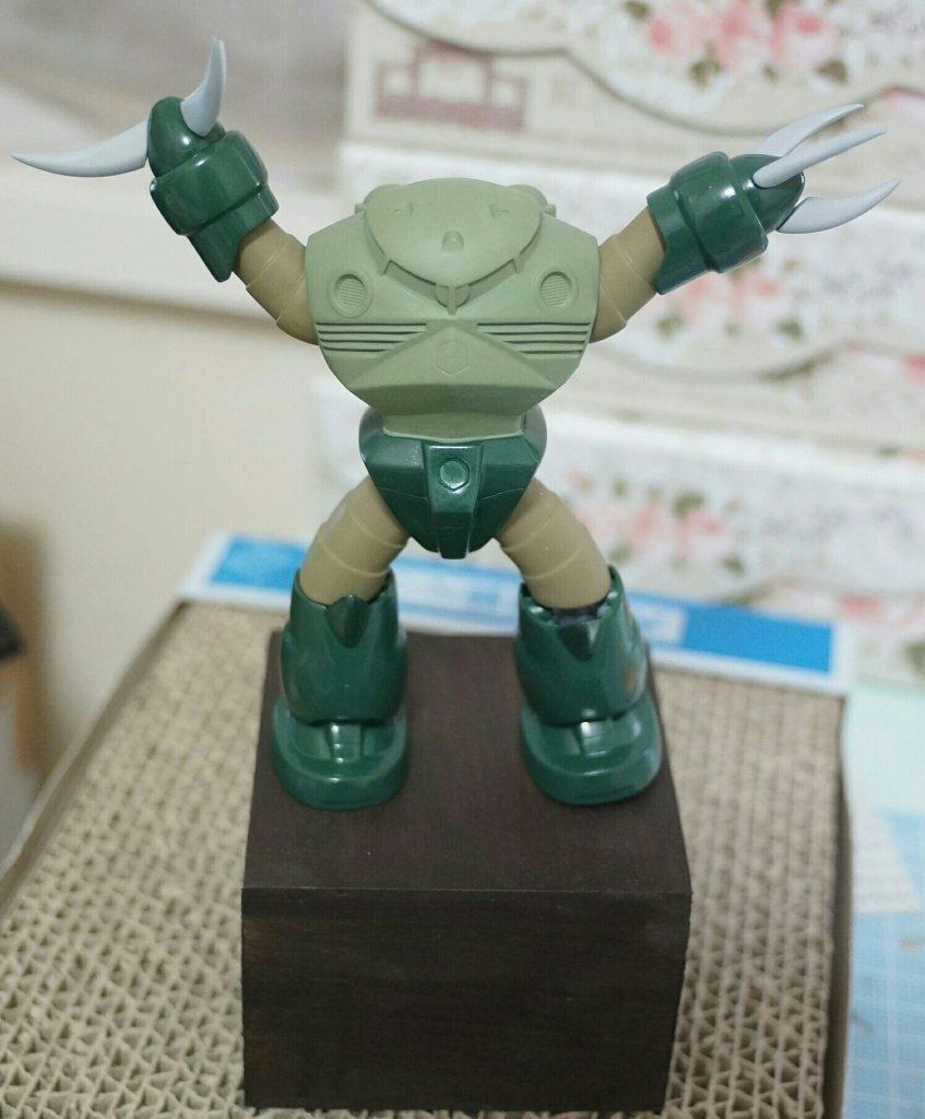 緑のズゴッキ 制作工程1
