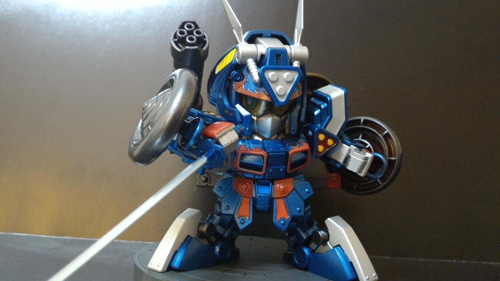 紅武者アメイジング Ver.Prime 制作工程3