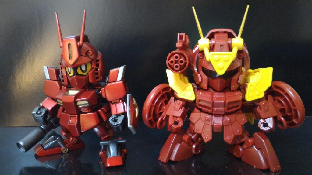 紅武者アメイジング Ver.Prime 制作工程4