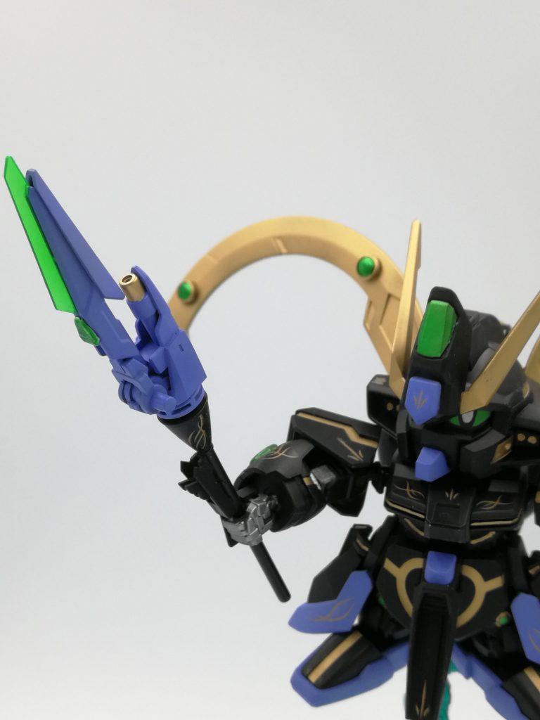 風の黒魔道士 星天ガンダム 制作工程2