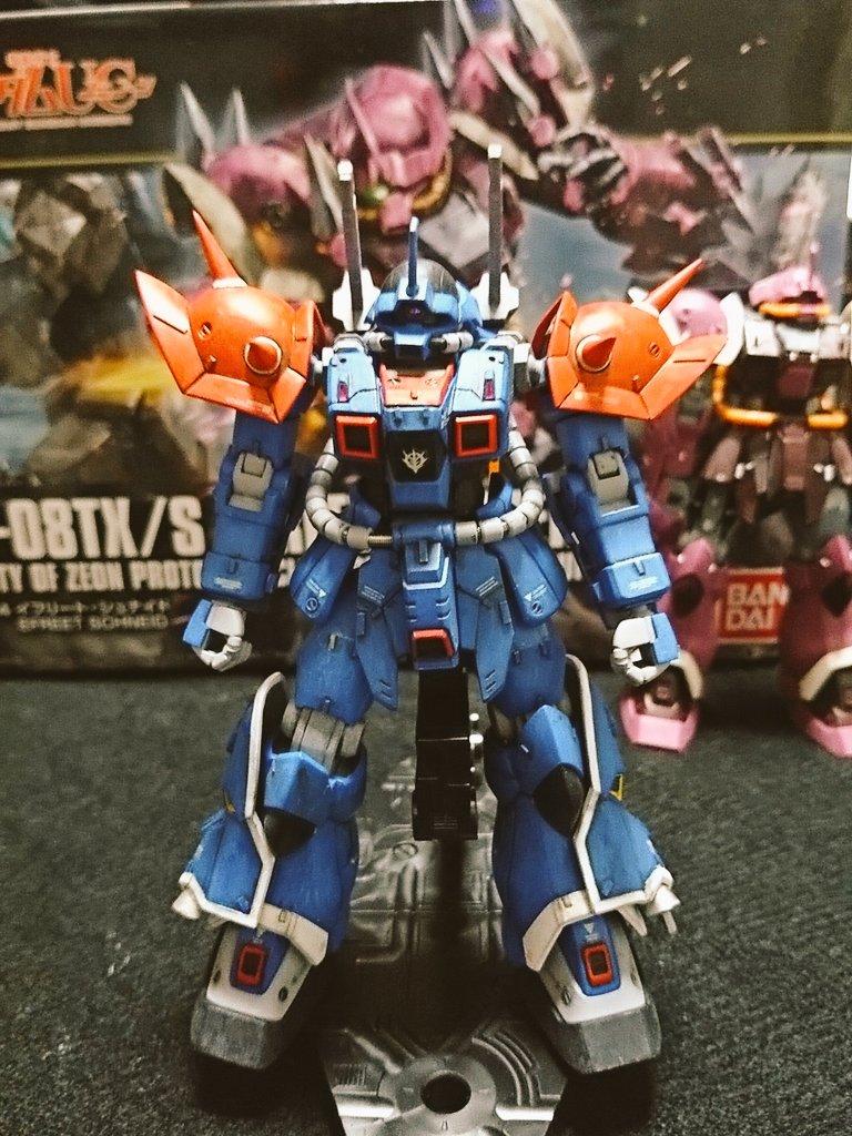 HG MS-08TX[EXAM]イフリート改 アピールショット1
