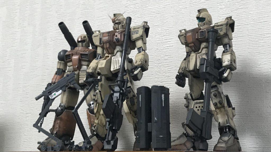 陸戦型三兄弟